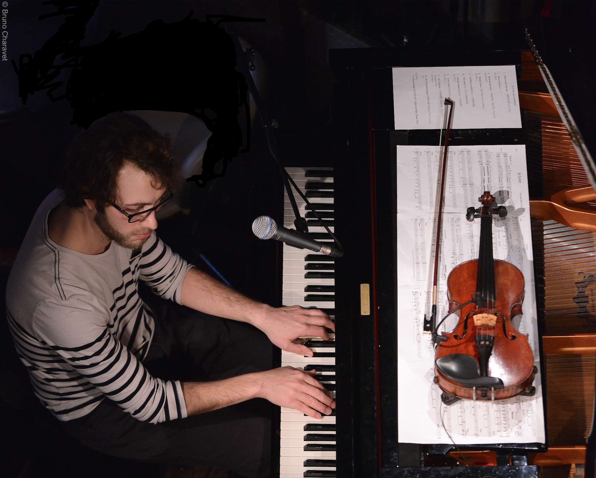 Antoine piano violon duc 1